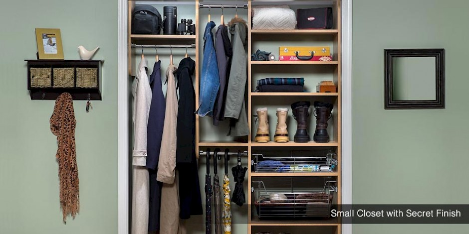 Custom Small Reach In Closets