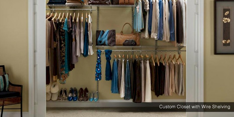 Wire Closets Customizable Closet Wire Shelving Johnson