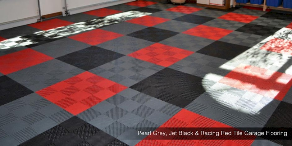 Swisstrax Garage Flooring Custom Tile Garage Flooring