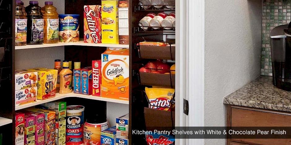 Custom Kitchen Pantry | Kitchen Cabinets, Shelves ...